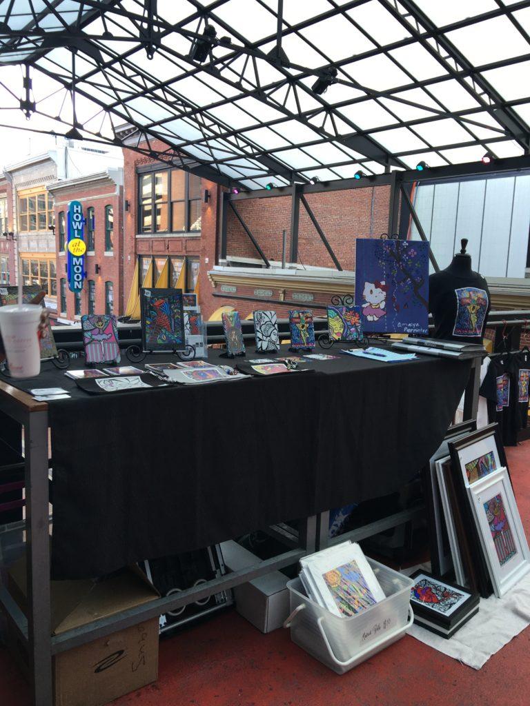Table display and art work